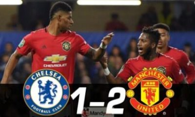 m46xv36e6pm - Chelsea 1 - 2 Manchester United Highlights & Goals (Video)