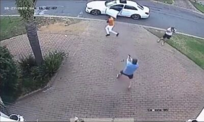 qugbclzfuic - Two South African Armed Robbers Flee After Messing With The Wrong Guys (Video)