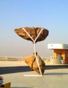 2-10-231x300 My Visit To Controversial Cairo Airport Stone Sculpture (Photos)