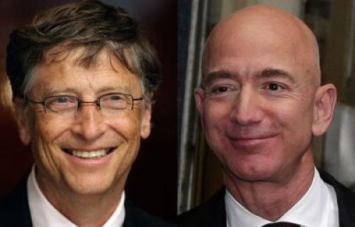 Bill-gates-and-Jeff-bezos Bill Gates Tops Jeff Bezos As Richest Person In The World: See The Full List