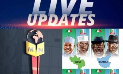 live update - 2019 Kogi And Bayelsa Governorship Elections (Live Updates)