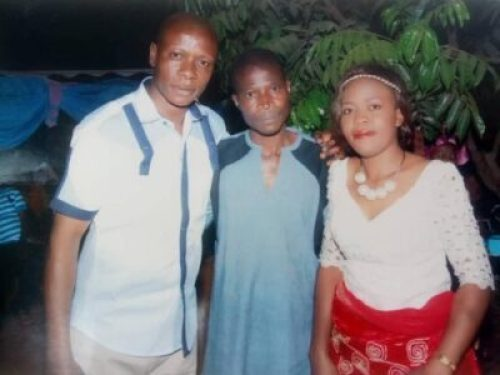 deceased,Chima Ikwunado, his boy and his wife