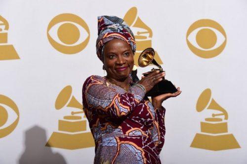 2020 GRAMMY: Angelique Kidjo Dedicates Her Award To Burna Boy