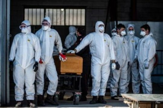 Coronavirus: Many Coffins Of People Who Died In Italy Today (Photos)