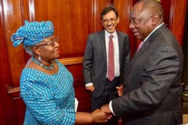 South African President Appoints Okonjo-Iweala Head Economic Advisory Council
