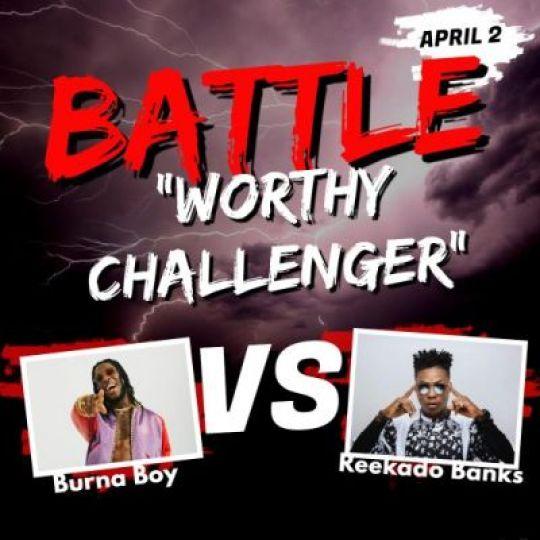 Reekado Banks Challenges Burna Boy To A Battle