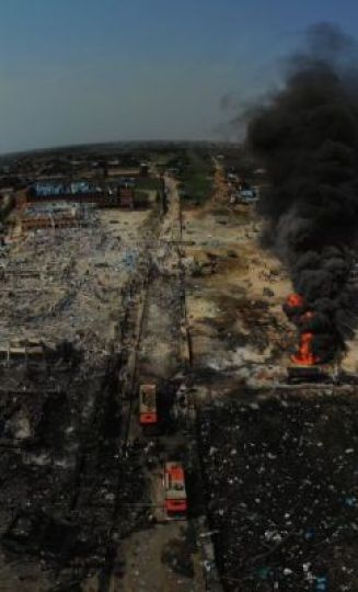 Lagos Explosion: Governor Sanwo-Olu Seeks For Donations