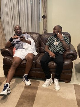 Davido and Seyi Makinde, Oyo State Governor