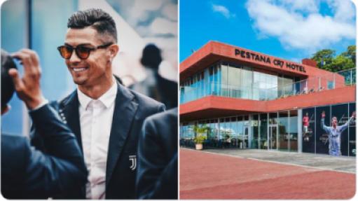 Ronaldo and hospital