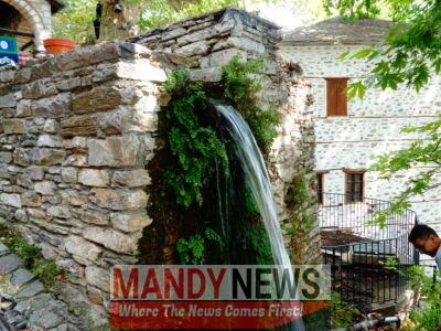 Natural Spring Fountain, Makrinitsa