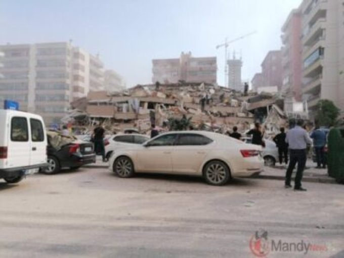 7.0 Magnitude Earthquake Kills 4 In Turkey, Greece At Least 120 Injured