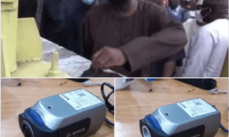 Fact Check: Mysterious Camera Found In Lekki Tollgate By Fashola