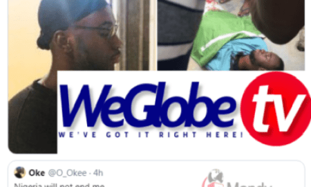 Police Shot A Young Man After He Tweed 'Nigeria Will Not End Me'