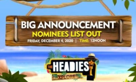 Davido Leads All Nominees For 2020 Headies Awards: Full List