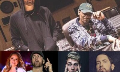 Eminem, snoop dogg, Mariah carey & Machine Gun Kelly