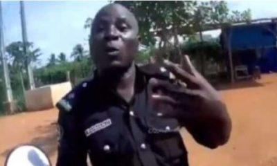 Nigerian Police Caught On Camera Asking Spanish Tourist For Money