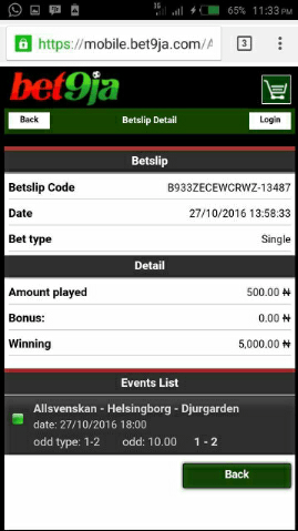 img_20161028_075502 ​Many Won Recently, BET9JA BETTING CODES, Today 13th Dec 2016 Sure Games