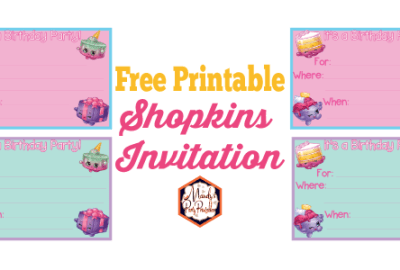 Free Printable Shopkins Birthday Party Invitation