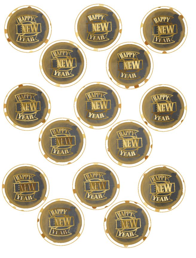 Countdown to Midnight Free New Year's Eve Printables via Mandy's Party Printables