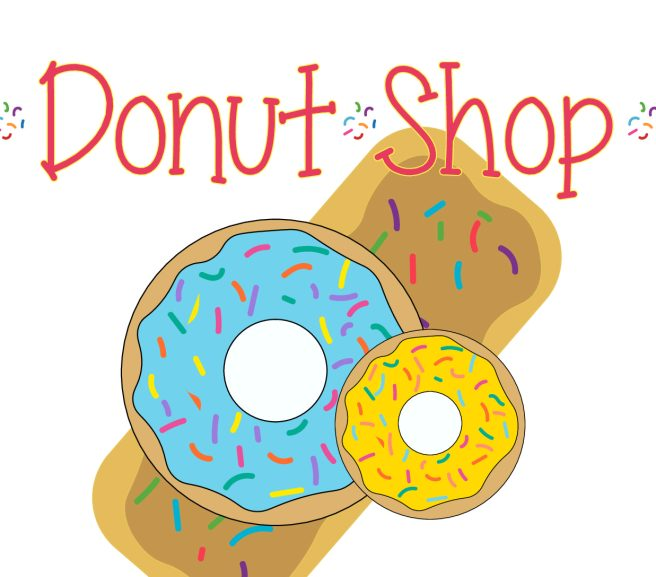 Preschool Dramatic Play Donut Shop Sign by Mandy's Party Printables