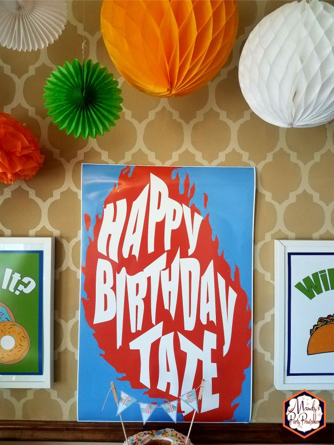 Happy Birthday Party Good Mythical Morning Inspired Birthday Party via Mandy's Party Printables