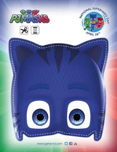 PJ Masks Party Printables for FREE via Mandy's Party Printables