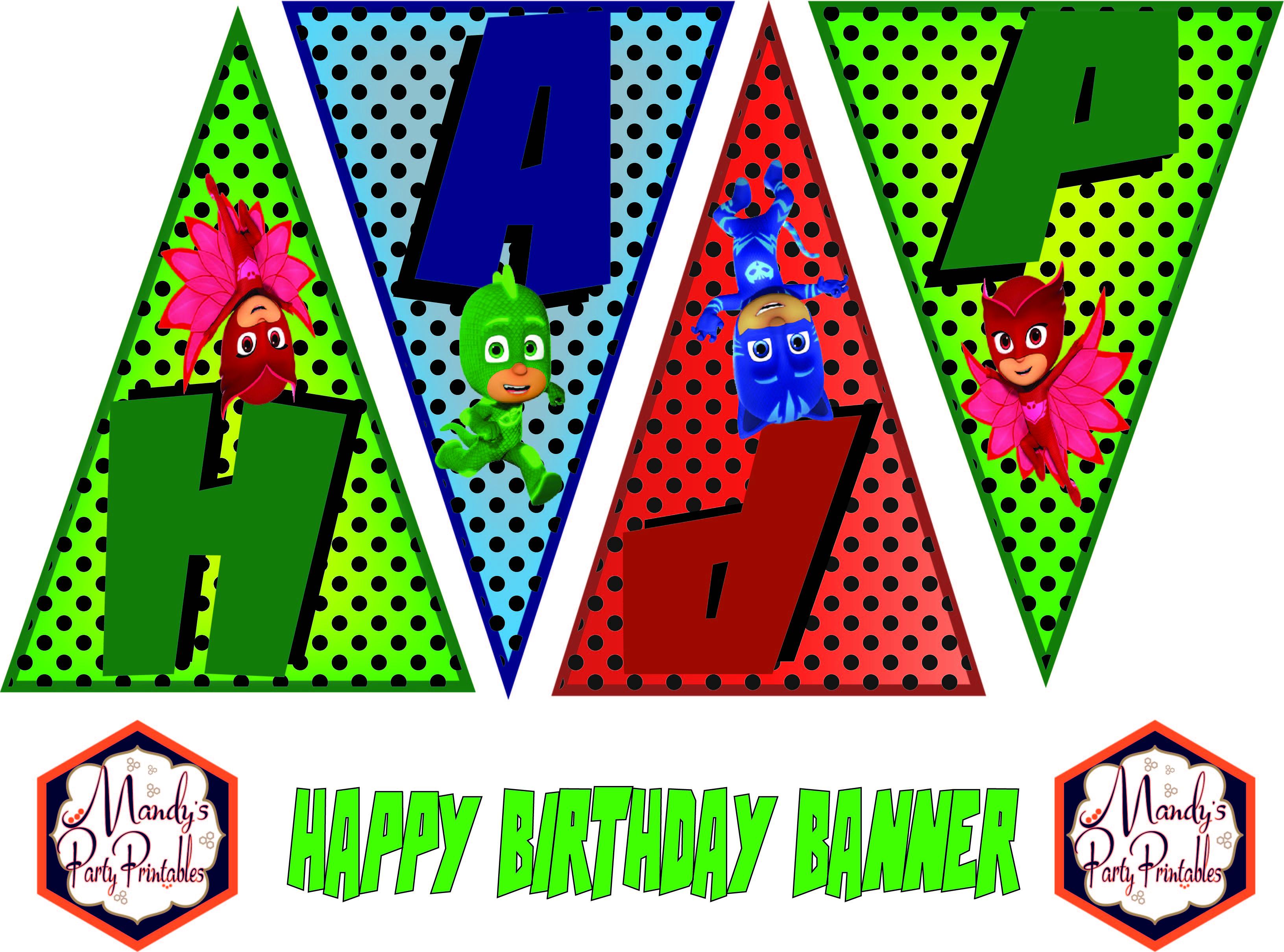 Pj Masks Birthday Quotpj Masks Birthday Partyquot In 2018