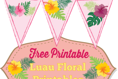 free luau banner Archives