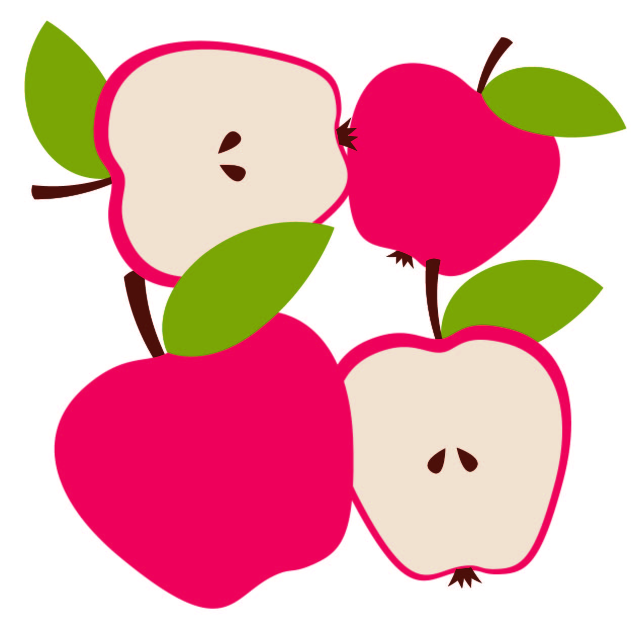 graphic regarding Printable Apple Pictures identified as No cost Apple Drop Banner Printable