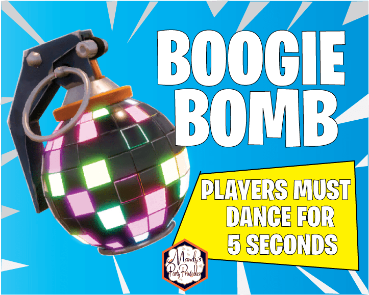 picture about Chug Jug Printable referred to as Free of charge Printable Fortnite Bash Signs or symptoms