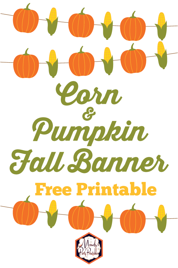 picture about Fall Banner Printable identified as Cost-free Slide Printables Range