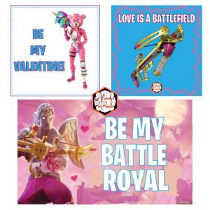 Free Printable Fortnite Valentines Card
