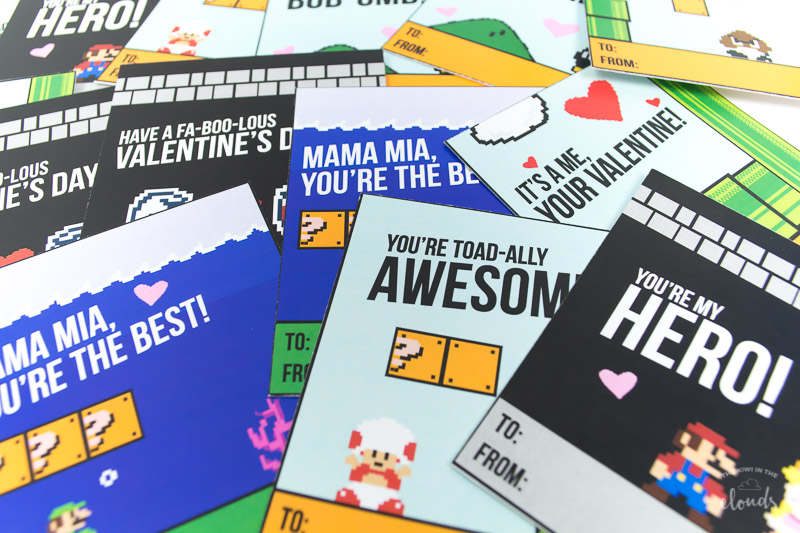 picture about Minecraft Printable Valentines identified as Cost-free Printable Gaming Valentine Playing cards
