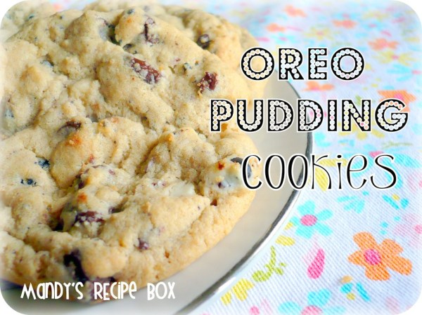 Oreo Pudding Cookies Mandy39s Recipe Box