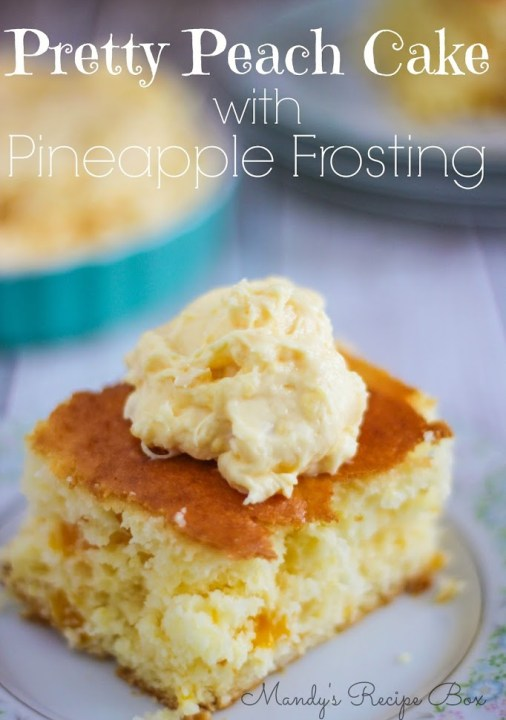 Mix Pudding Into Cake Batter With Pineapple Juice