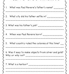 Paul Revere (Third Grade GA Heroes) Resources {FREEBIE} – Mandy's Tips for  Teachers [ 1600 x 1237 Pixel ]