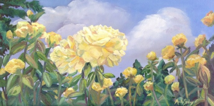 Yellow Rose Painting