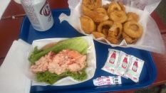Lobster Roll and Onion MIddles