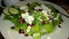 Salad with Goat Cheese, Pecans and Cranberries
