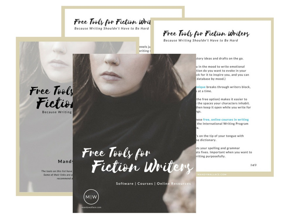 Free Tools for Fiction Writers