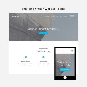 Emerging Writer Website Theme: Showcase Pro