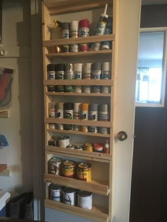 Garage - Paint Storage