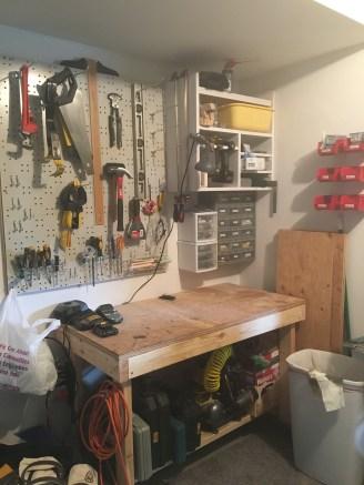 Garage - Work Bench