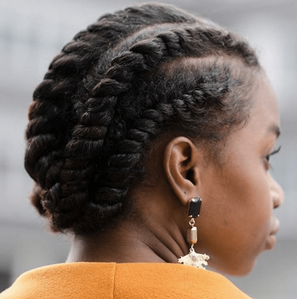 How To 4 No Heat Stretch Styles For Natural Hair Mane Addicts