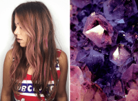 Mane Addicts Gem Tone Hair Will Be All The Rage This ...