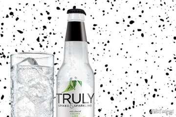 Truly Sparkling and Spiked alcohol