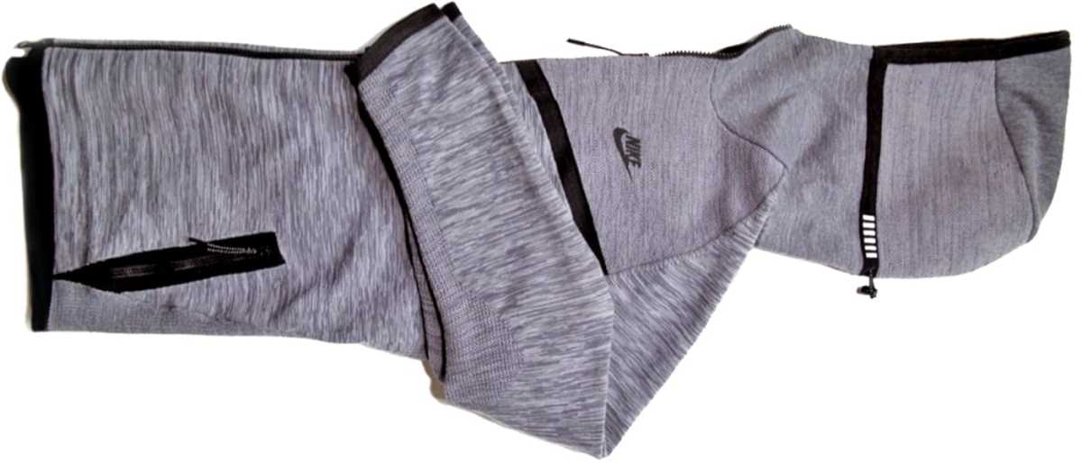MAN'edged Magazine men's style editor's pick featuring a Nike gray hoodie