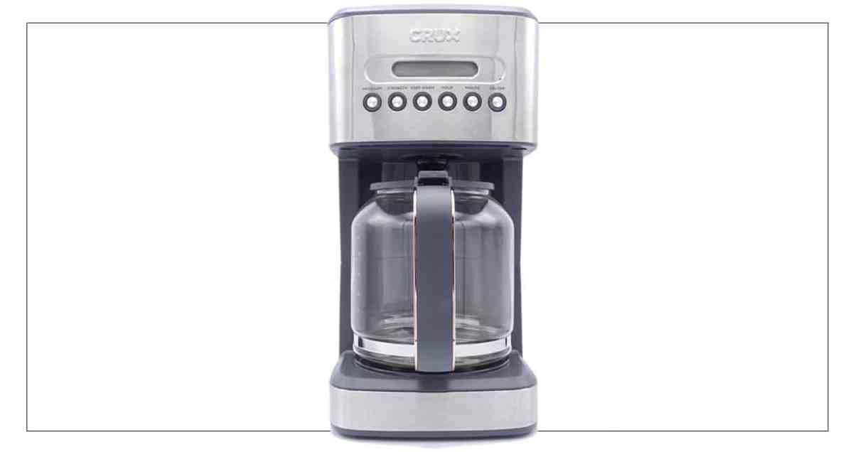 Mother's Day Silver luxe 14-cup coffee maker by Crux