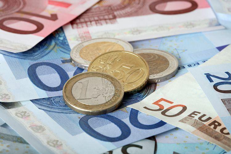 El EUR / USD se burla de 1,22 por el retroceso del USD, la inflación medida por el IAPC alemán observada
