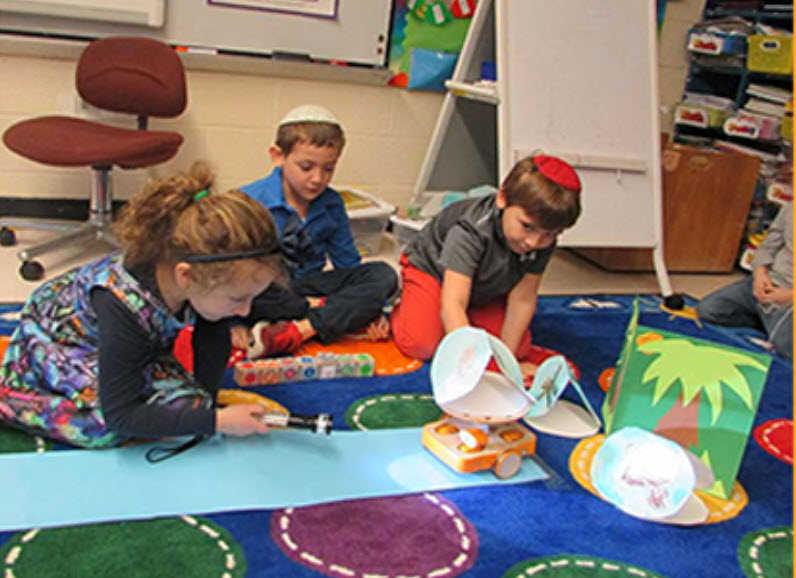 La subvención para la educación de la primera infancia proporciona aprendizaje STEAM para las escuelas judías
